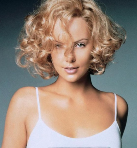 Short Curly Bob Hairstyle