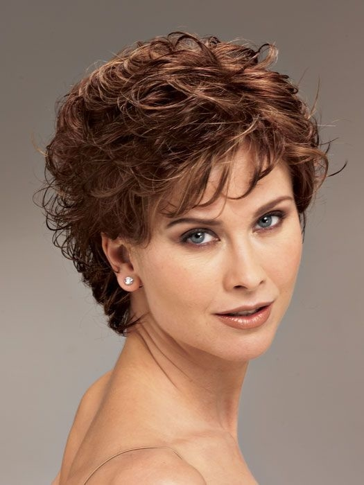 Easy Hairstyles For Short Curly Hair