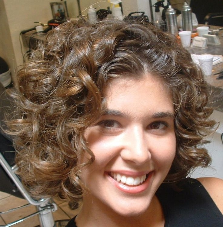 Short Curly Hairstyles For Curly Hair 2017