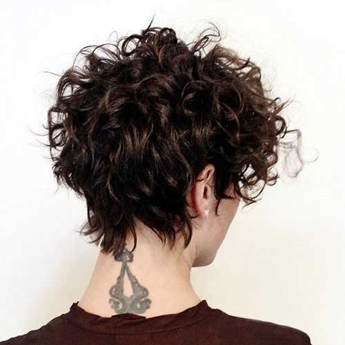 +10 Best Short Curly Hairstyles 2018