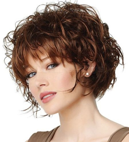 Know About Curly Short Hairstyles with Bangs to Look Different