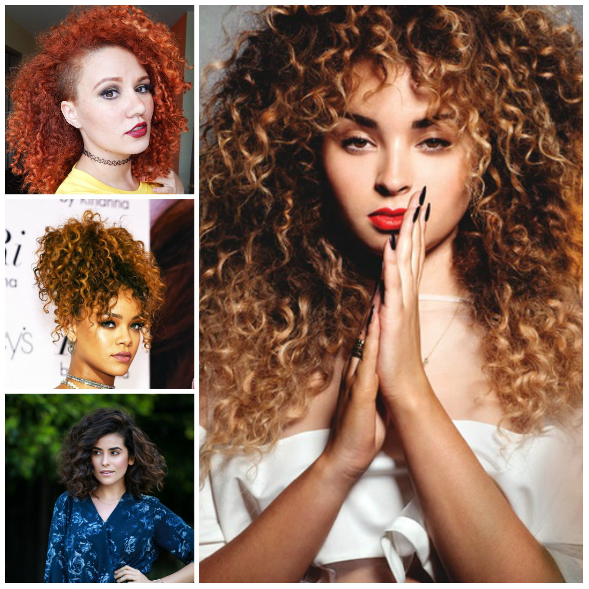 Let's Know About Different Types of Haircut for Curly Hair 2018