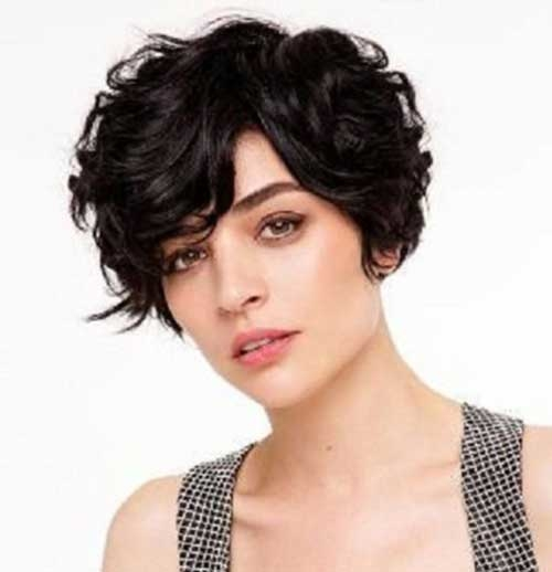 Short Haircut Ideas for Curly Hair