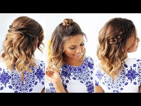 Different Cute Hairstyles for Short Hair