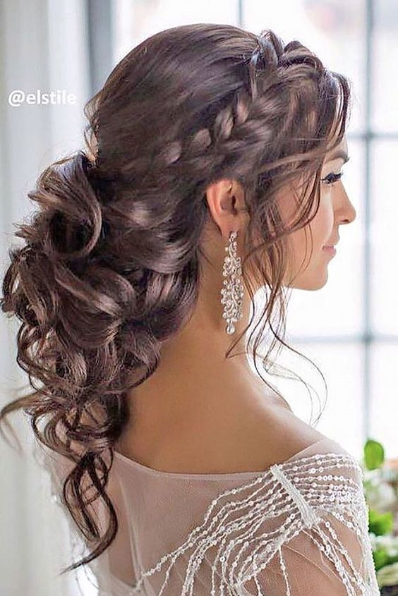 31 Most Beautiful Updos For Prom Curly Prom Hair Curly