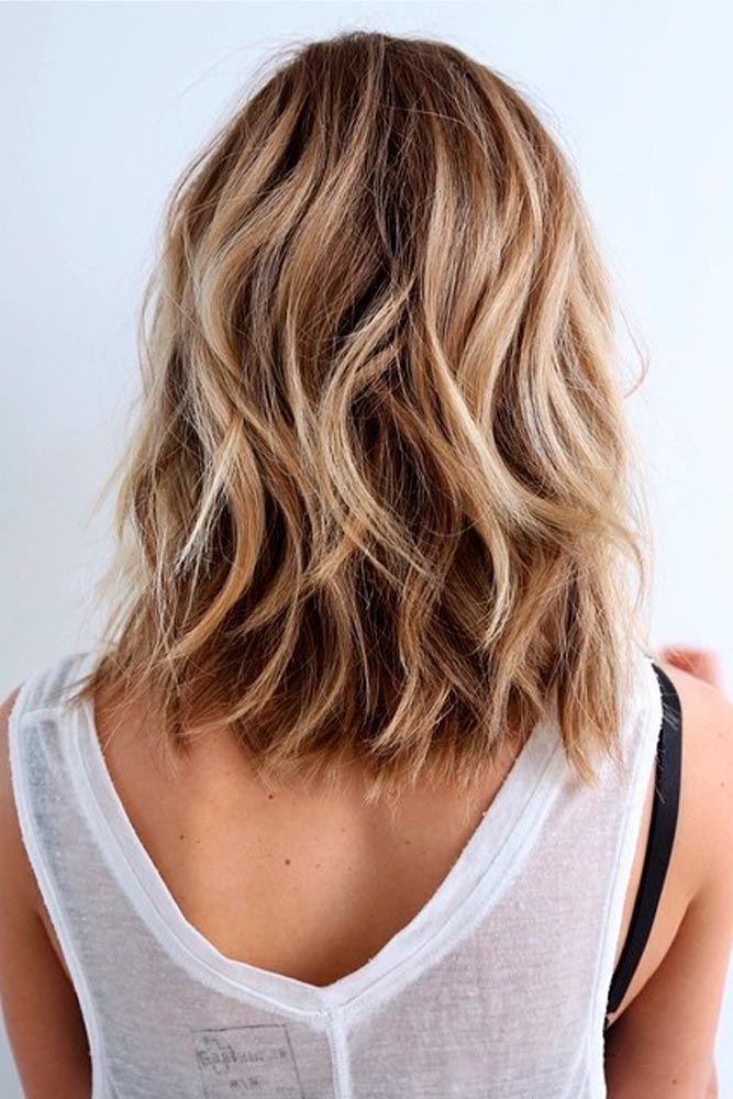 Stylish Layered Wavy Hair