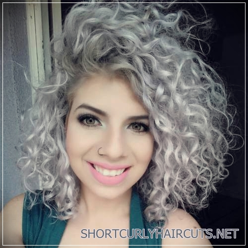 Best Hair Colors Curly Hair 3 Short And Curly Haircuts