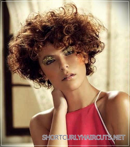 Female Short Curly Hairstyles