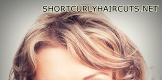 layered hairstyles for curly hair