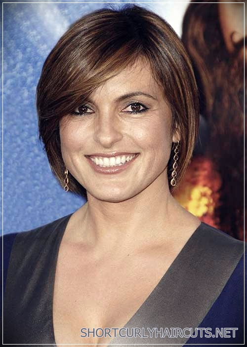 Brief Bob Hairstyles for Women over 40