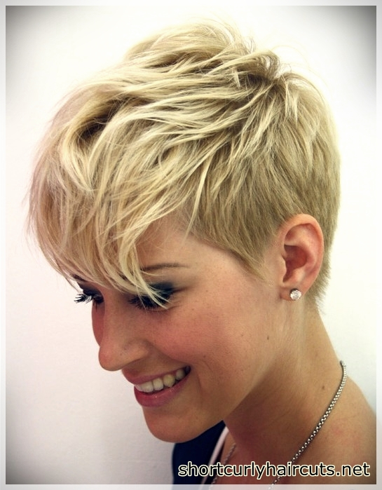 Pixie Short Hair Models