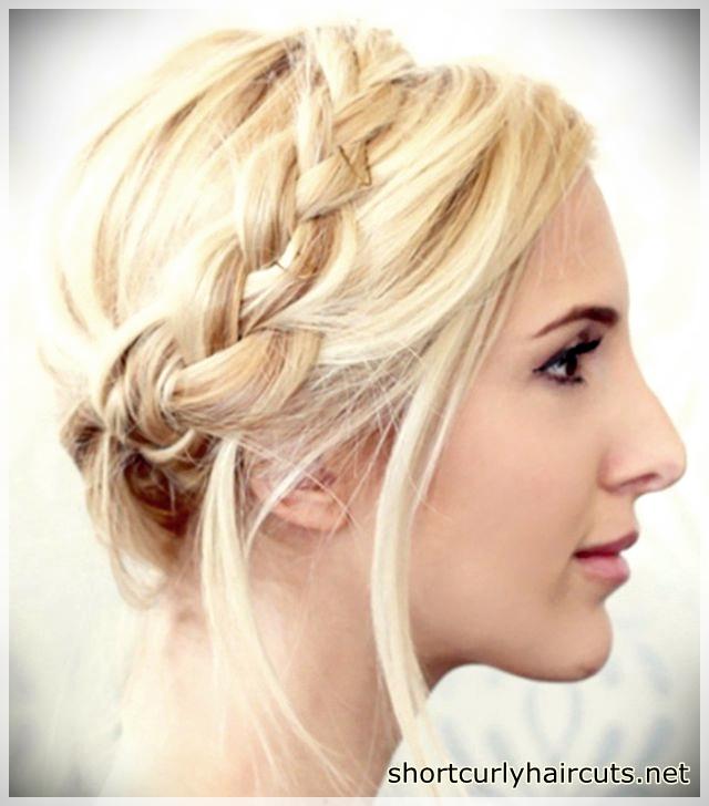 Side scattered bulk and braided hair model