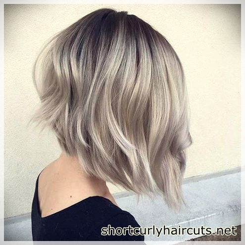 Ombre hair model for fine hair