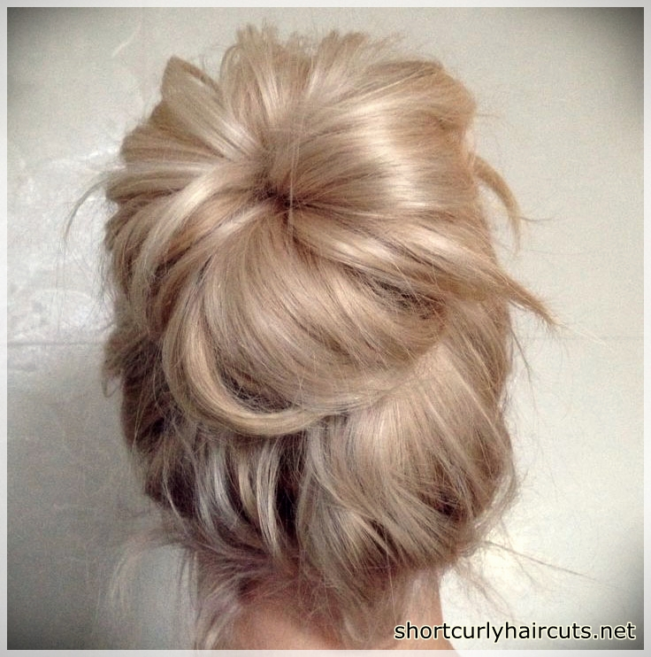Dispersed bun models for fine hair