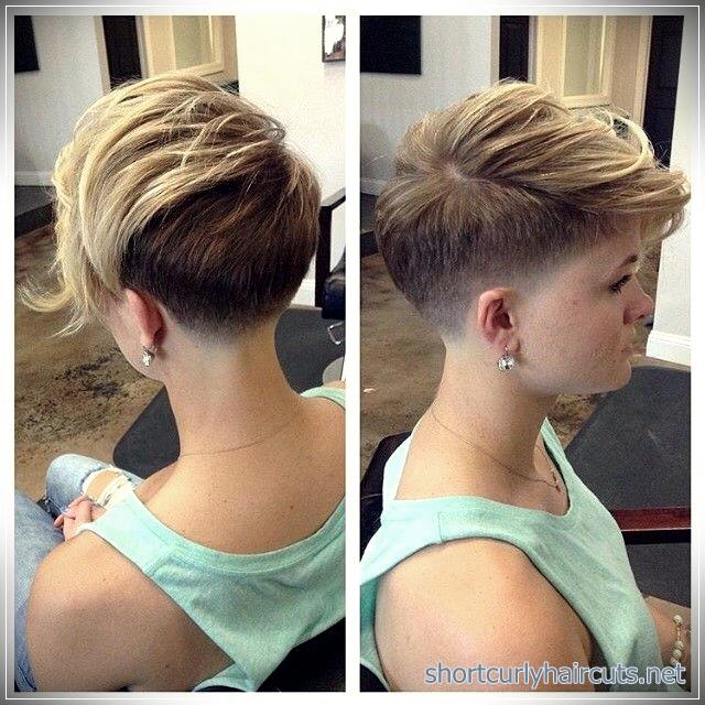 Undercut Pixie haircuts