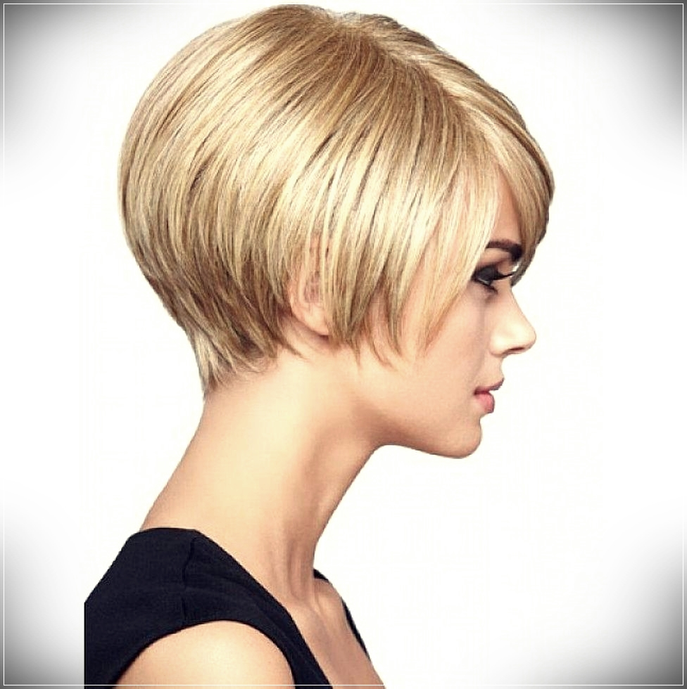 Vibrant layered and short hairstyles