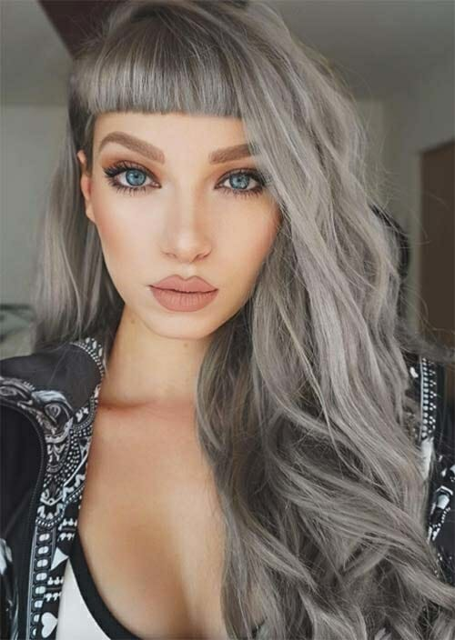 silver hair color ideas for women