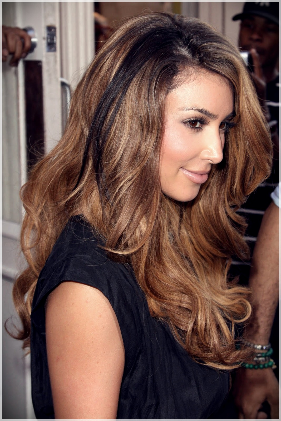 Rocking Caramel Brown Hair Color