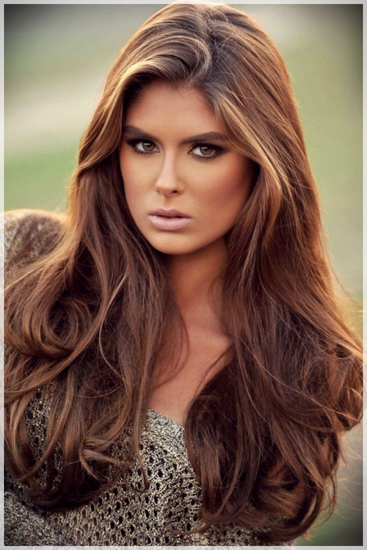 Rocking Caramel Brown Hair Color