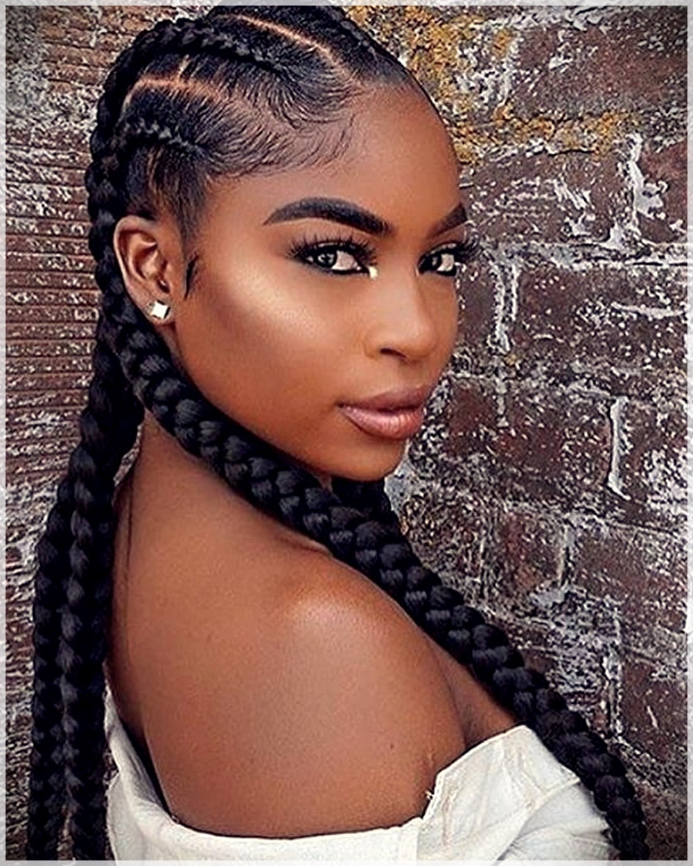 Pictures of braided black hairstyles, sexy nued without bra girls