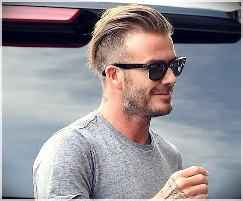 Men\u0027s Haircut 2019 shades of shaved and colored hair