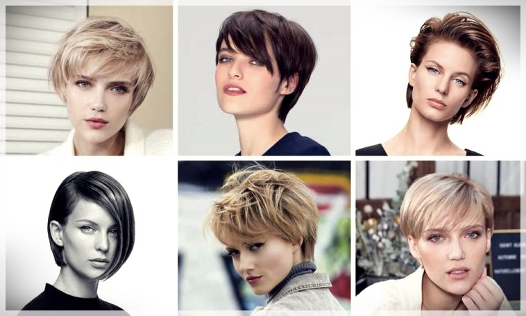 Short haircuts autumn winter 2018 2019