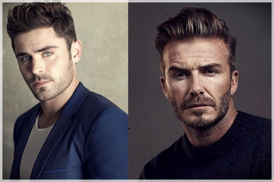 Trendy male cuts