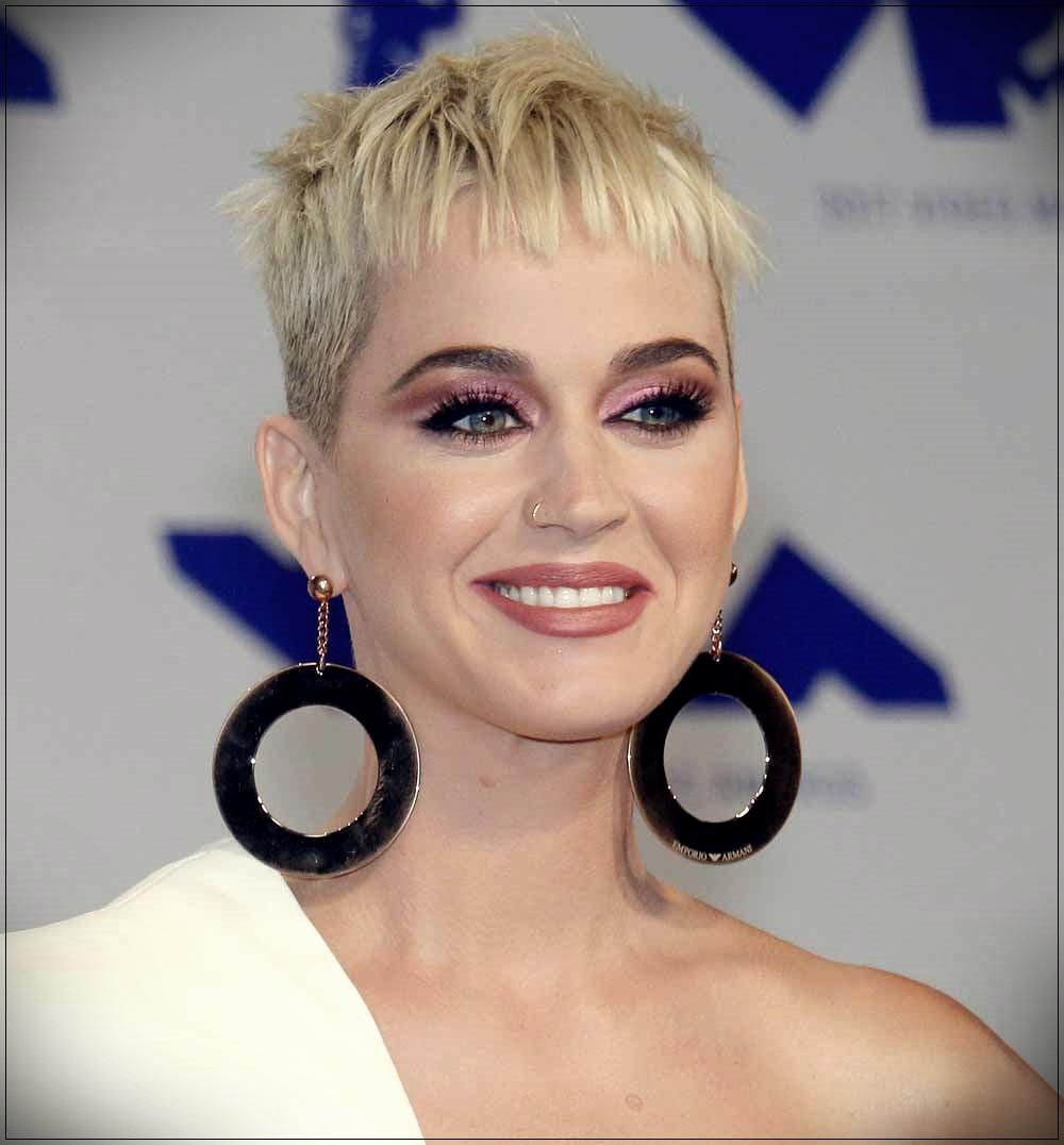 Pixie cut Katy Perry