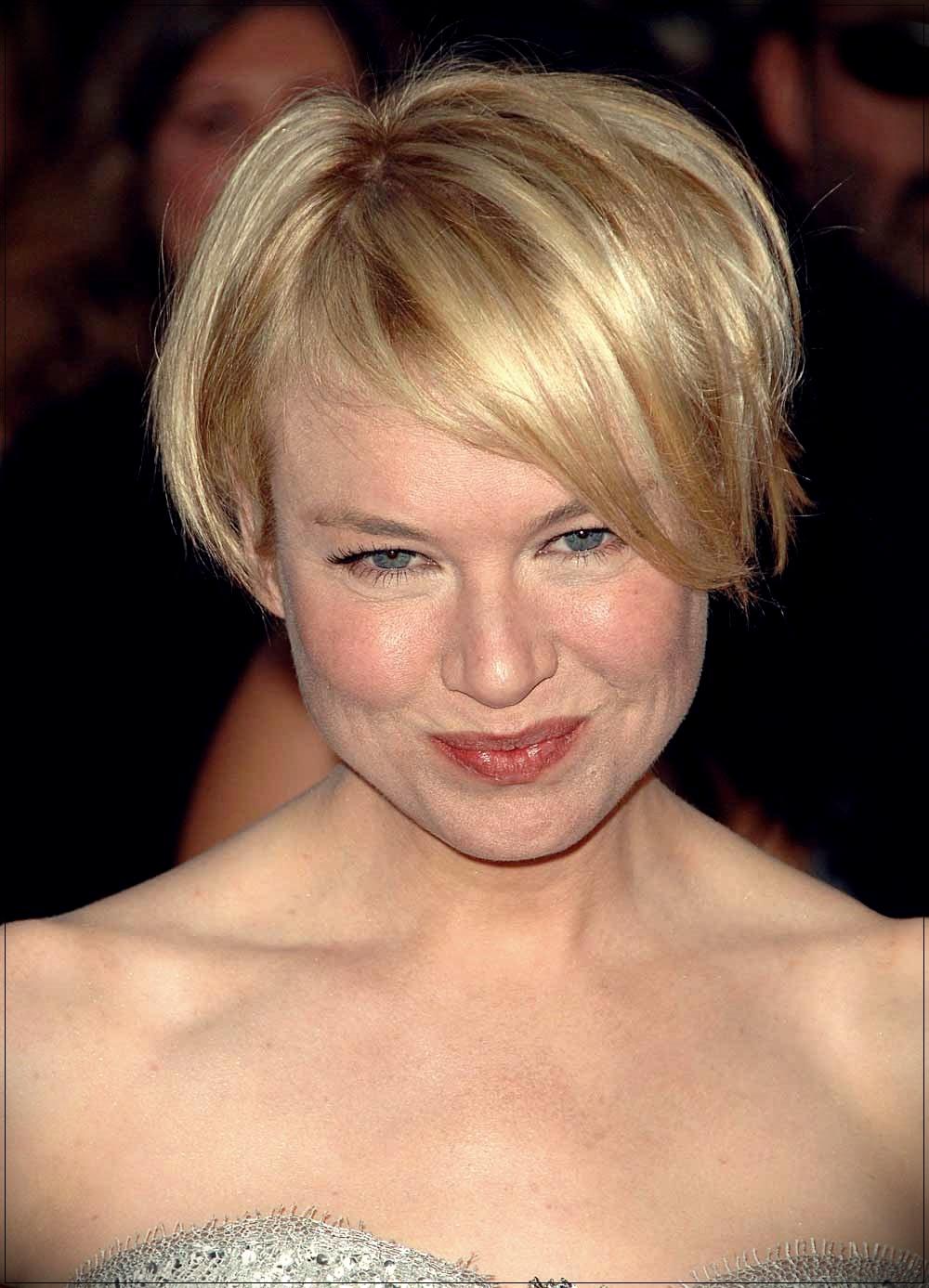 Pixie cut Renee Zellweger