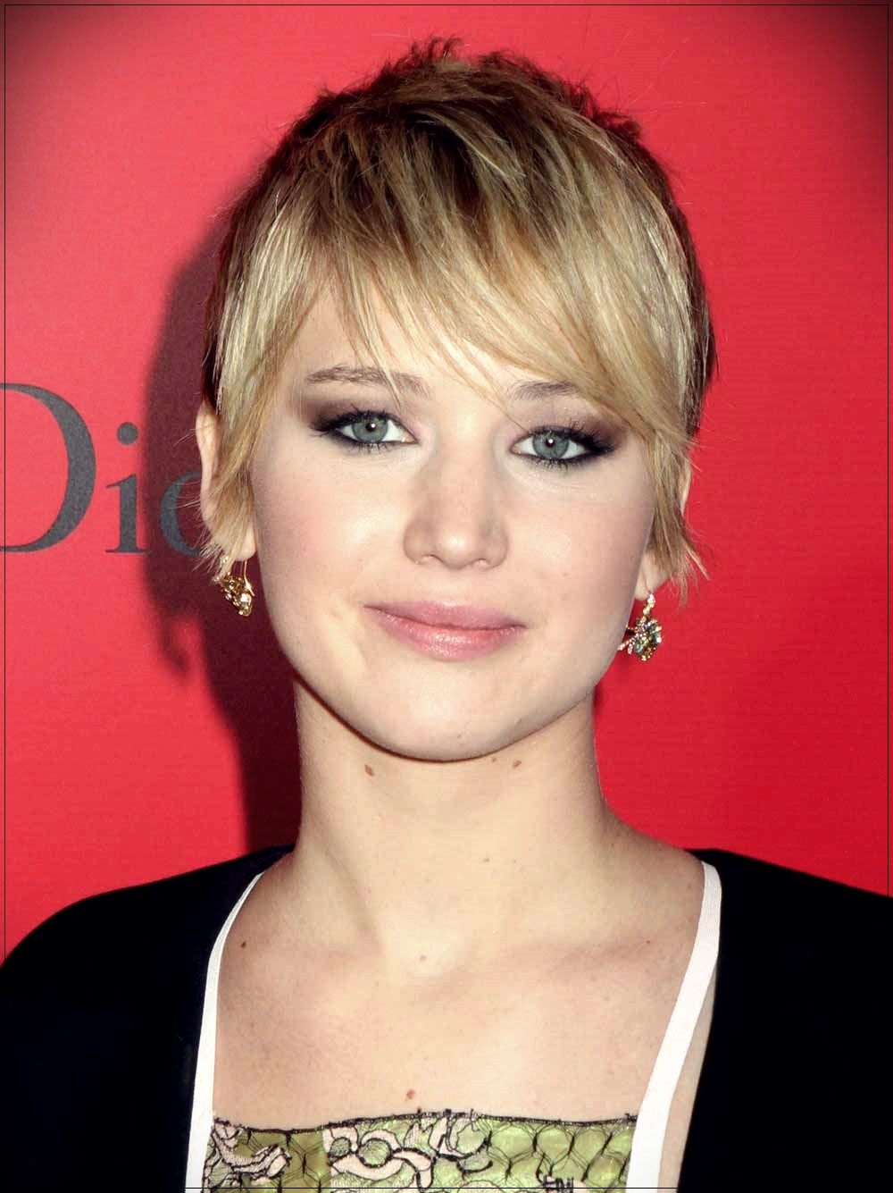 Pixie cut Jennifer Lawrence