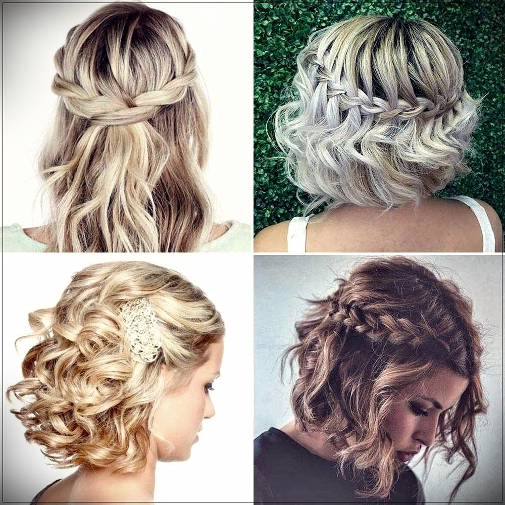 Simple hairstyles short wavy hair
