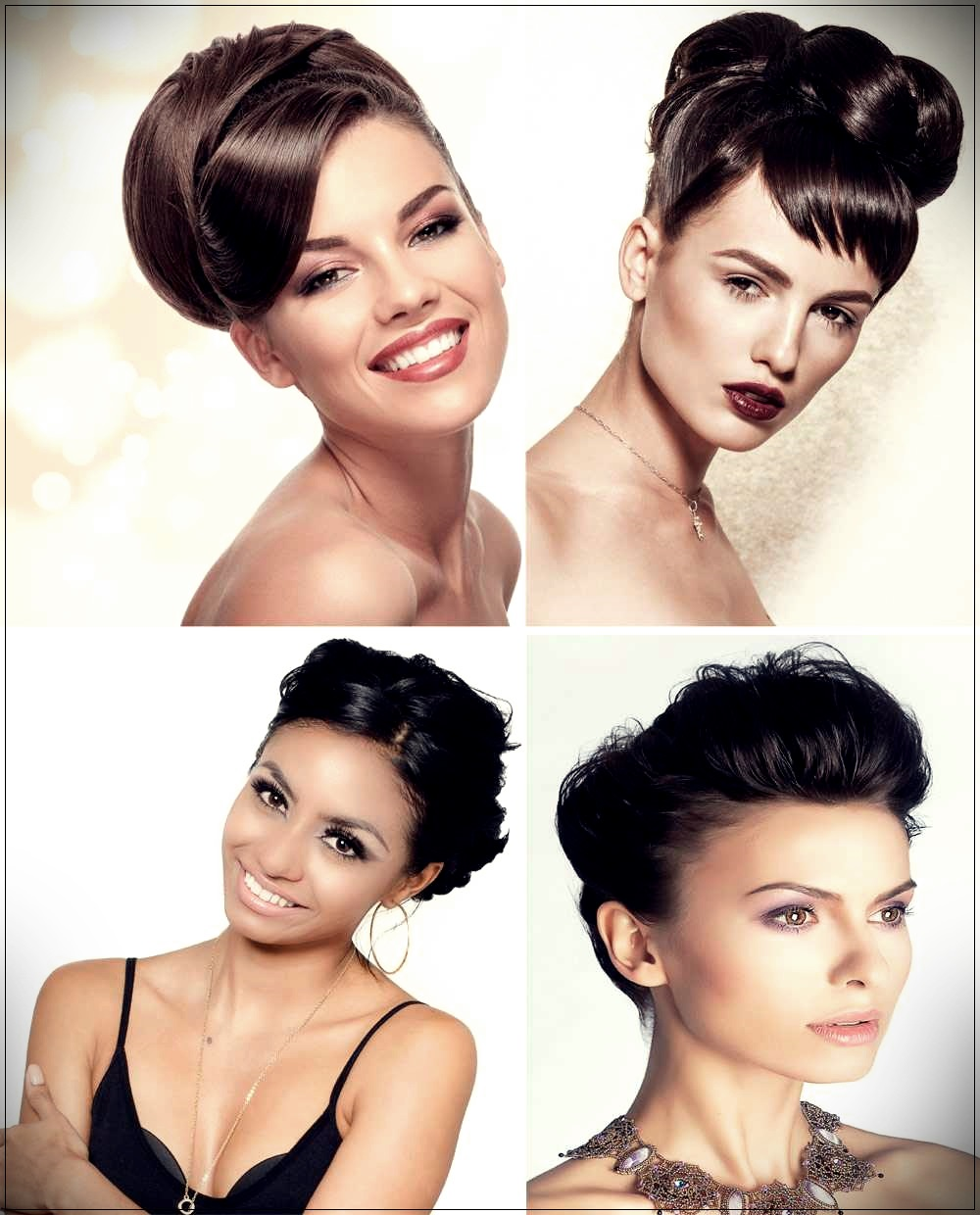 Hairstyles elaborate short hair