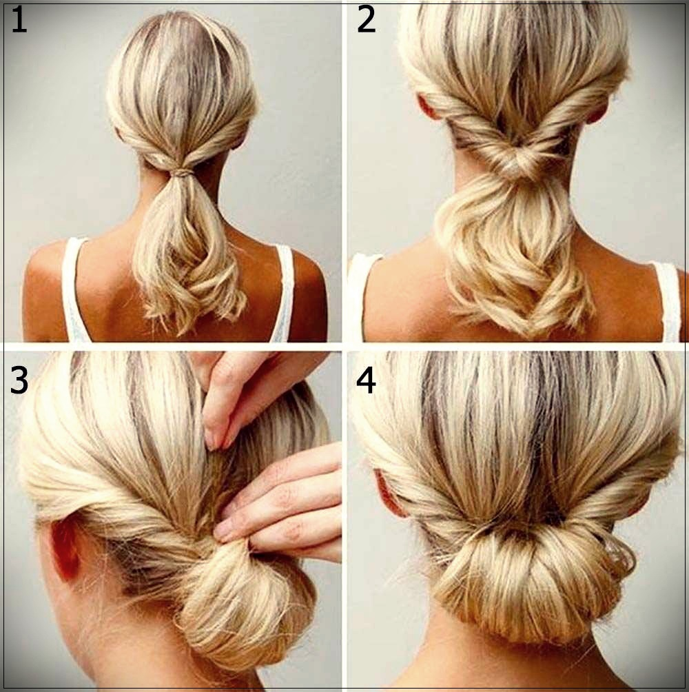Simple hairstyle short hair tutorial