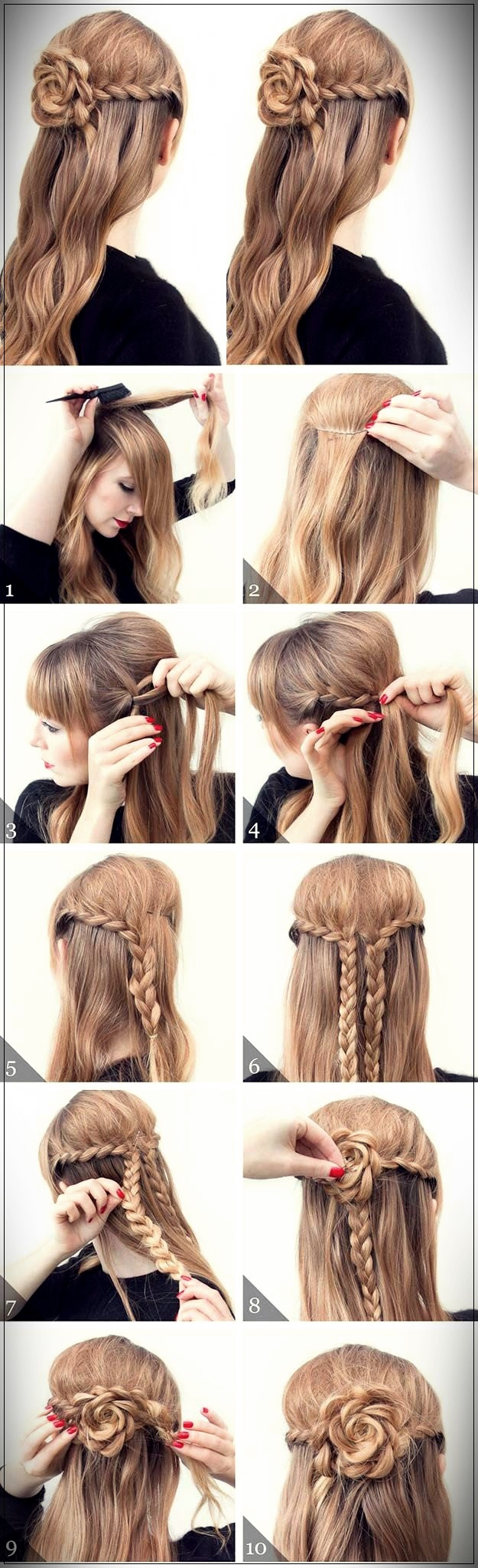 Easy Hairstyles 2019 step by step