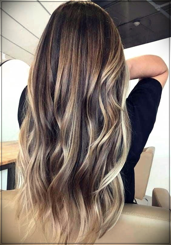 The Most Fashionable Long Hair Coloring Types 2019