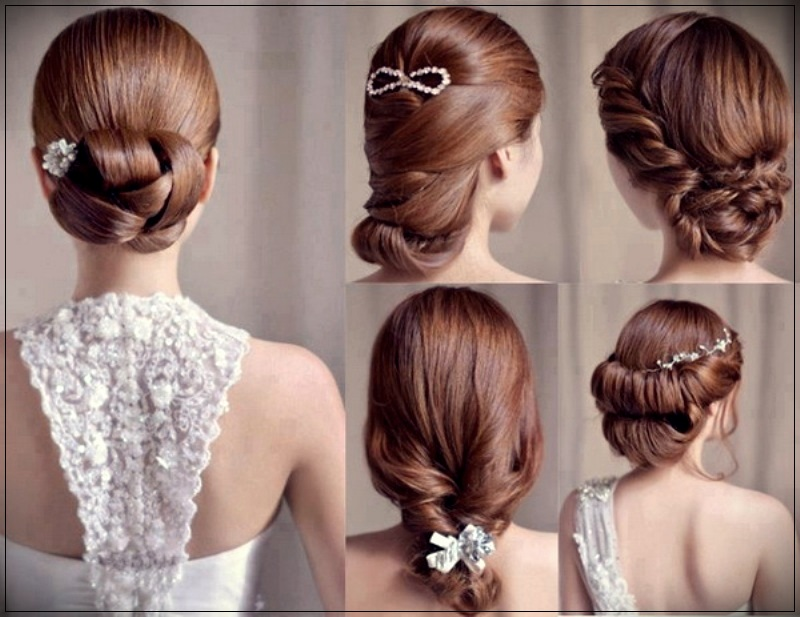 Short Haircut For Fall Winter 2019: Trend Wedding Hairstyles In Autumn-Winter 2018-2019