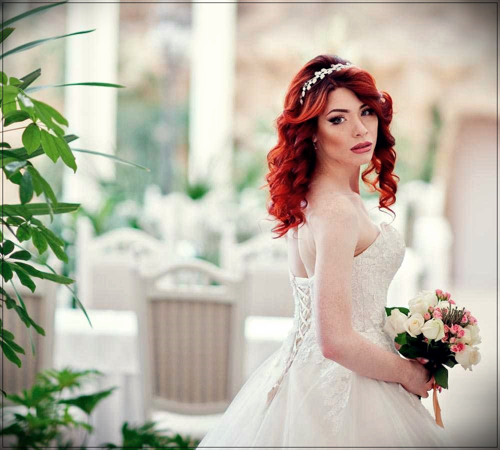 Bridal Hairdo With Red Hair Beautiful Ideas