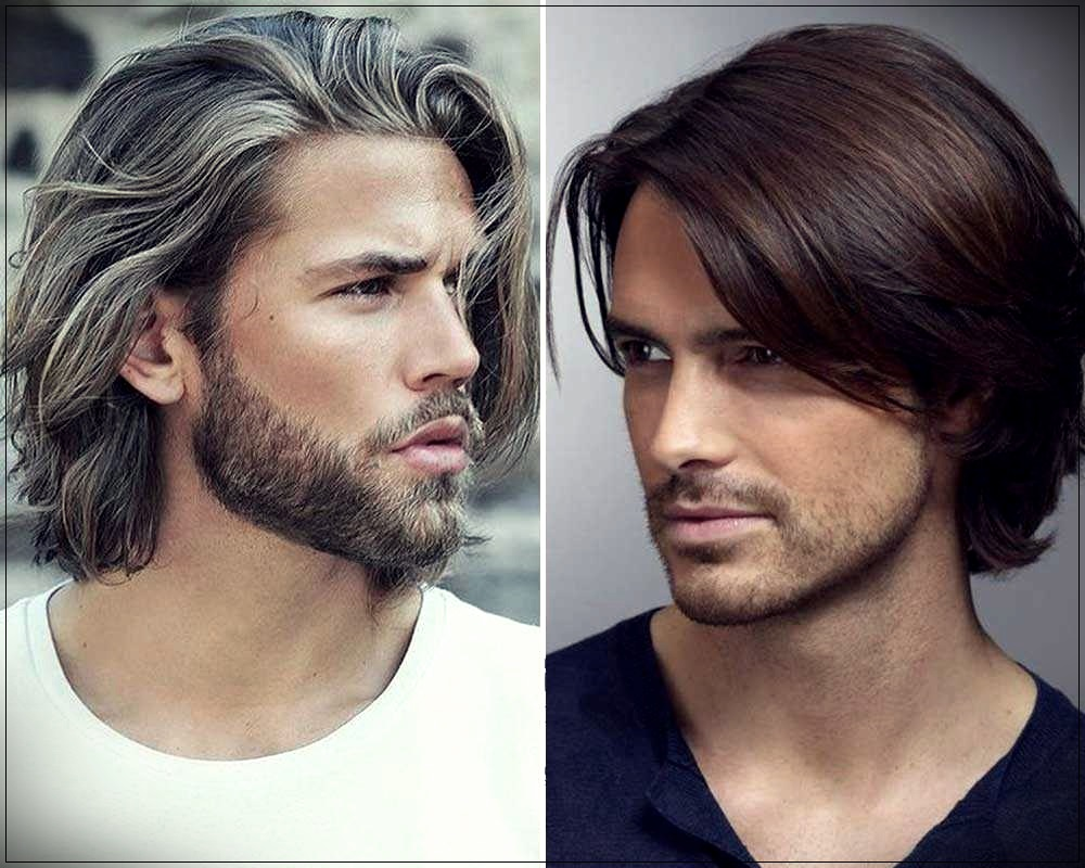 these long man haircuts are ideal for those who have neither curly hair nor straight hair but tend to move the most practical hairstyle the masculine top