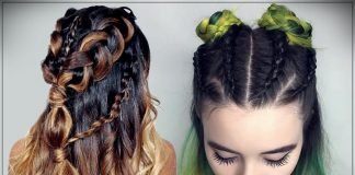 Hairstyles with braids 2019