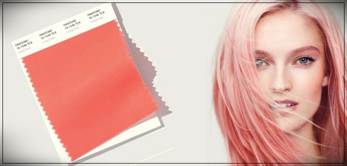 Living coral hair color
