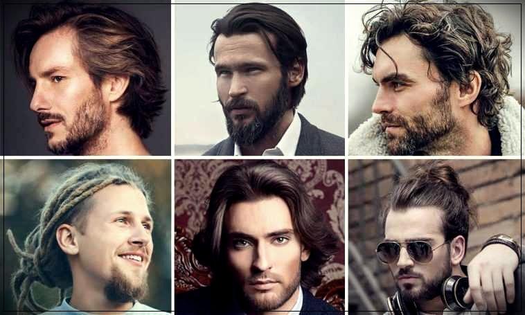 Long hair man