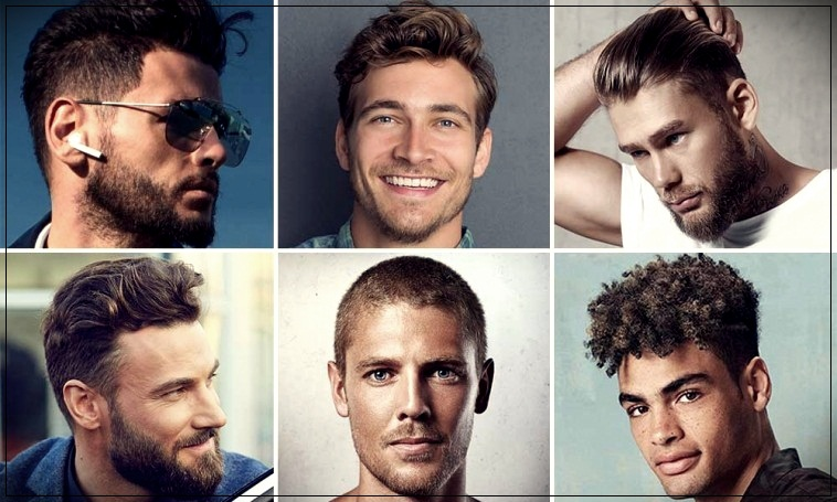 2019 men's short hair