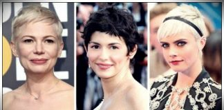 Celebrities pixie