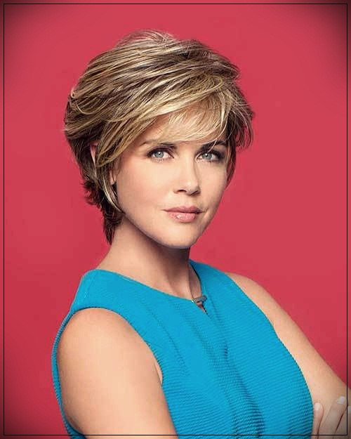 15 Short Haircuts For Older Women 2019