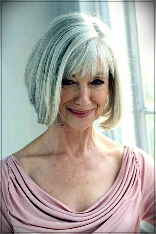15 Short Haircuts For Older Women 2019 Short And Curly Haircuts