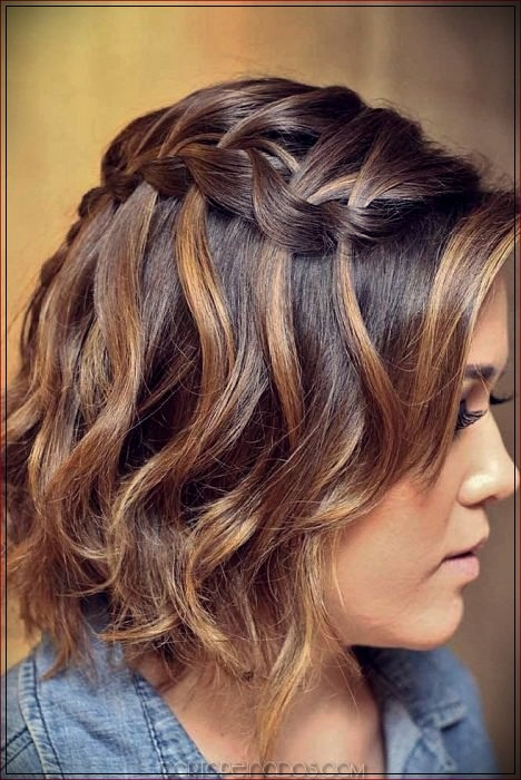 Boho Style Braids 3 Short And Curly Haircuts