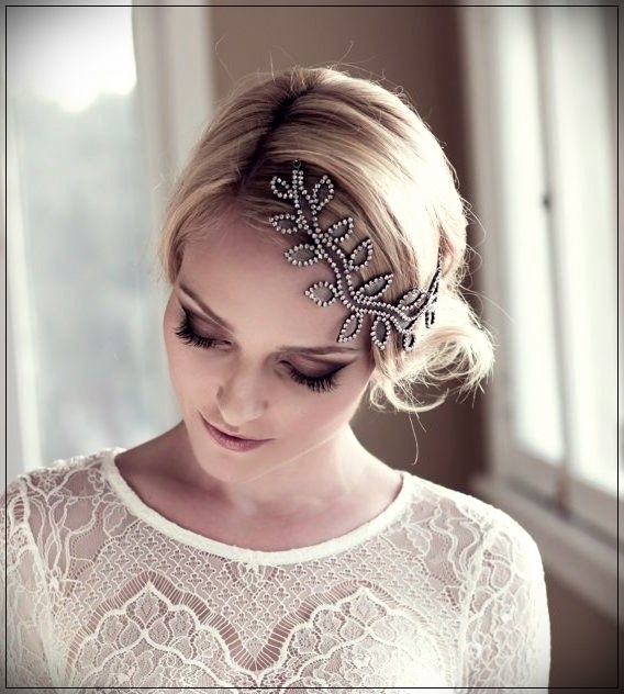 Collected bridal hairstyles