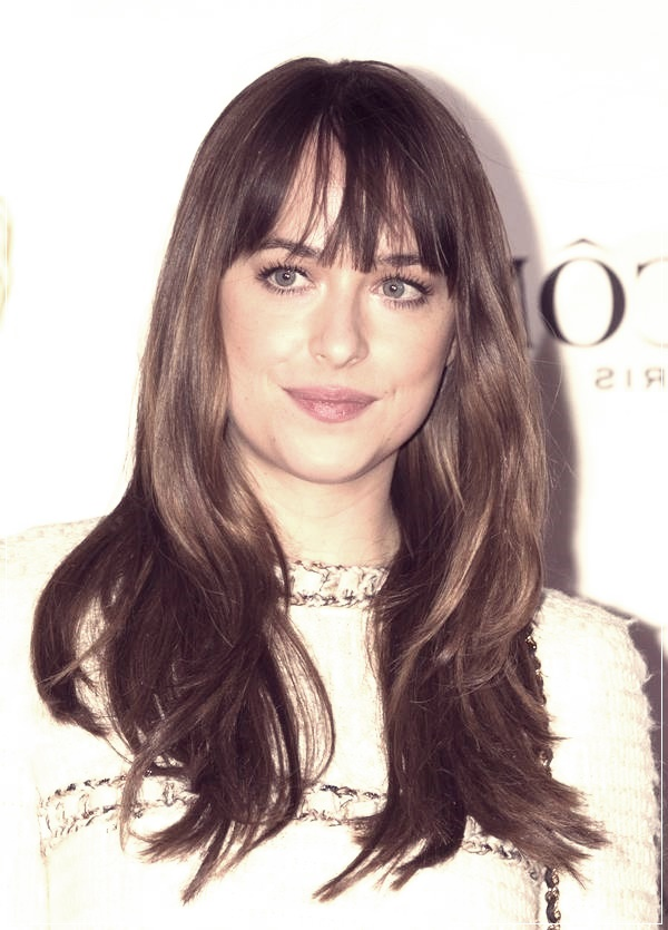 Long Hair Hairstyles With Bangs 2019 89