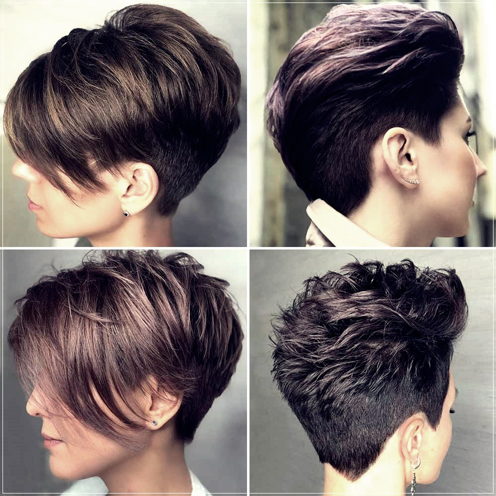 Short haircuts winter 2019 2020: all the TrendsShort and ...