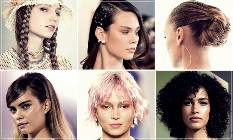 Spring 2020 Hair Trends.Hair Spring Summer 2020 All The Trendy Looks From Fashion